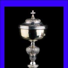 Antigüedades: ANTIGUO COPÓN DE PLATA MACIZA. LYON, FRANCIA, 1819-1838. Lote 112503603