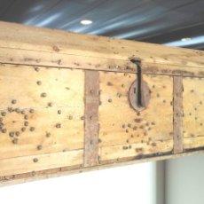 Antigüedades: ANTIGUO BAUL SIGLO XIX. Lote 54667549
