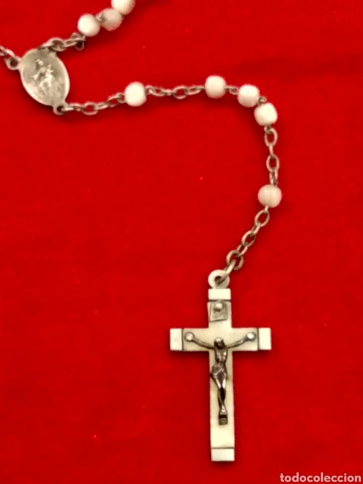 Antigüedades: Rosario plata y nácar - Foto 7 - 112506550