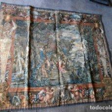 Antigüedades: TAPIZ APOLO Y ACOMPAÑANTES DESPELLEJANDO A MARSIAS. Lote 112531779