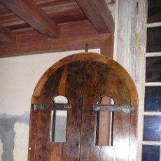 Antigüedades: PUERTAS Y VENTANAS ANTIGUAS. RECICLADOS.CONSTRUCCIÓN. Lote 112531831