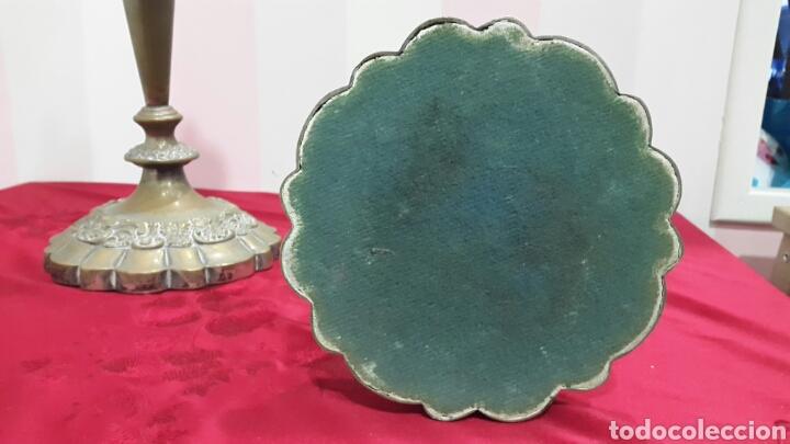 Antigüedades: ANTIGUOS CANDELABROS DE IGLESIA ALTAR - Foto 7 - 112546852