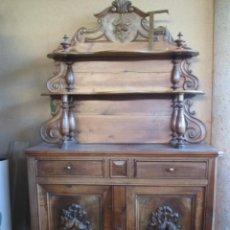 Antigüedades: APARADOR DE NOGAL.FRANCIA XIX. Lote 112549339