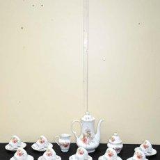 Antigüedades: JUEGO DE CAFÉ ANTIGUO PORCELANA BAVARIA. Lote 112553071