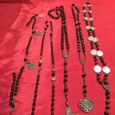 Antigüedades: LOTE ROSARIOS SIGLO XVIII/XIX. Lote 112560332