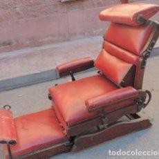 Antigüedades - Sillón ajustable de principios del s. XX Impresionante mueble británico. J. FOOT & SON. - 112568791