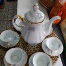 Antigüedades: ANTIGUO JUEGO DE CAFE. Lote 112561991