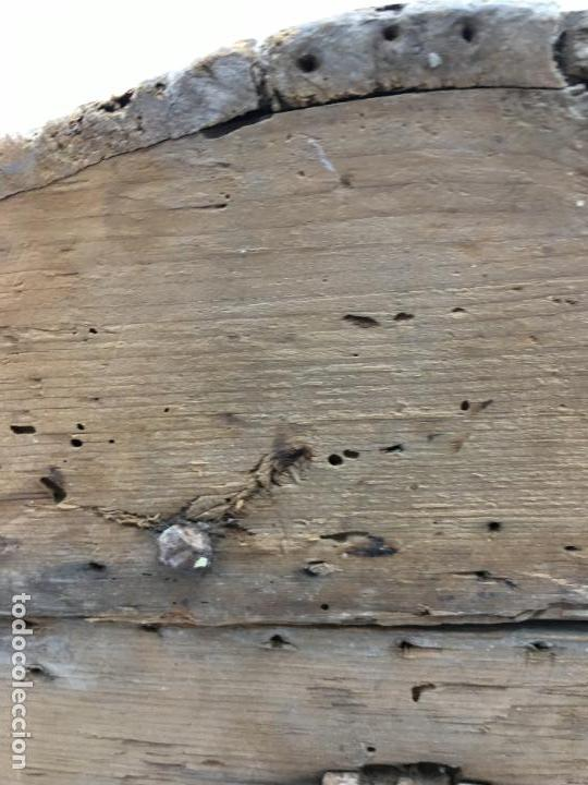 Antigüedades: ANTIGUO BAÚL DE VIAJE (bajito) -31 CM. DE ALTURA - PRECIOSOS HERRAJES - Foto 18 - 112594859