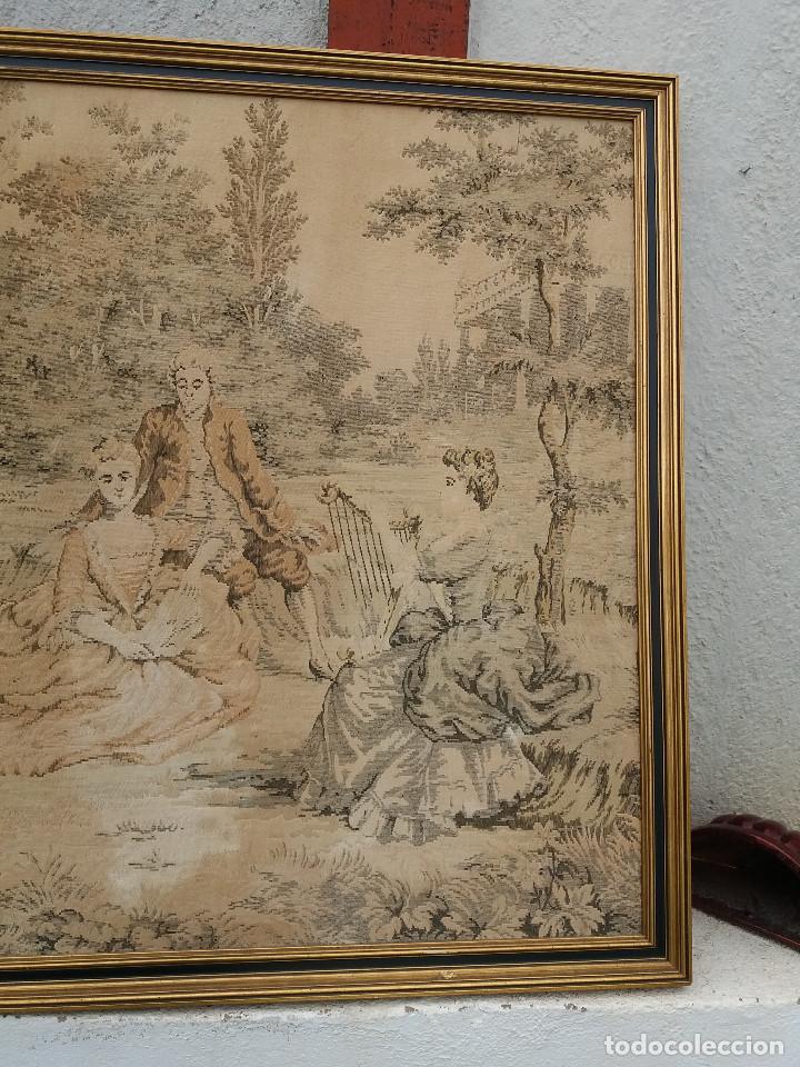Antigüedades: tapiz antiguo y grande - Foto 3 - 112607031