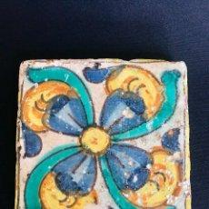 Antigüedades: VALENCIA AZULEJO DEL SIGLO XVIII VALENCIANO. . Lote 112617483
