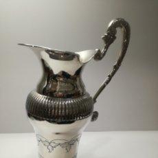 Antigüedades: JARRA DE PLATA. Lote 112631052