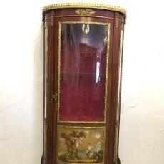 Antigüedades: VITRINA LUIS XV. Lote 112640079
