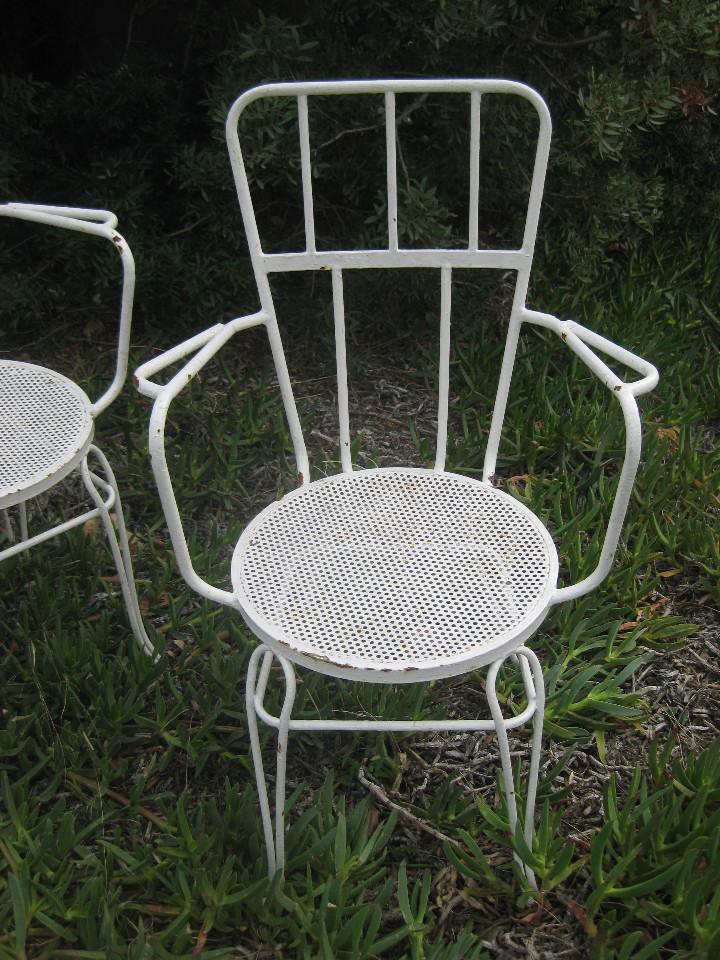 Sillas antiguas de jardin en hierro forja maziz comprar for Sillas de forja para jardin