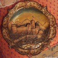 Antigüedades: GRAN PLATO TERRACOTA HEIDELBERG. Lote 112658736