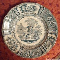 Antigüedades: SARGADELOS PLATO S.XIX III EPOCA. Lote 112662260