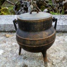 Antigüedades: POTE GALLEGO HIERRO. Lote 112663575