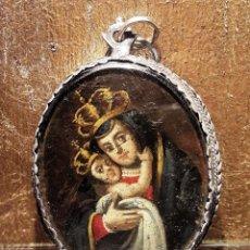 Antigüedades: MEDALLA RELICARIO DEL SIGLO XVII. Lote 112664167