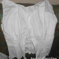 Antigüedades: CORPIÑO DEL SIGLO XIX. Lote 112705367