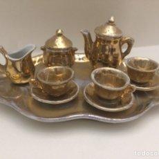 Antigüedades: ANTIGUO JUEGO DE CAFÉ EN MINIATURA. Lote 112749904