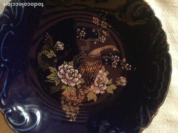 Antigüedades: PLATO DE PORCELANA JAPONESA SELLO FIRMA EIHO - Foto 2 - 112785451