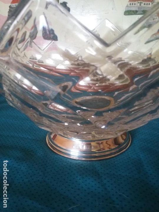 Antigüedades: Majestuoso centro de mesa. LICHTCRYSTAL base de plata - Foto 2 - 112787963