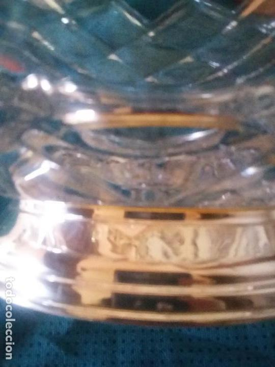 Antigüedades: Majestuoso centro de mesa. LICHTCRYSTAL base de plata - Foto 8 - 112787963