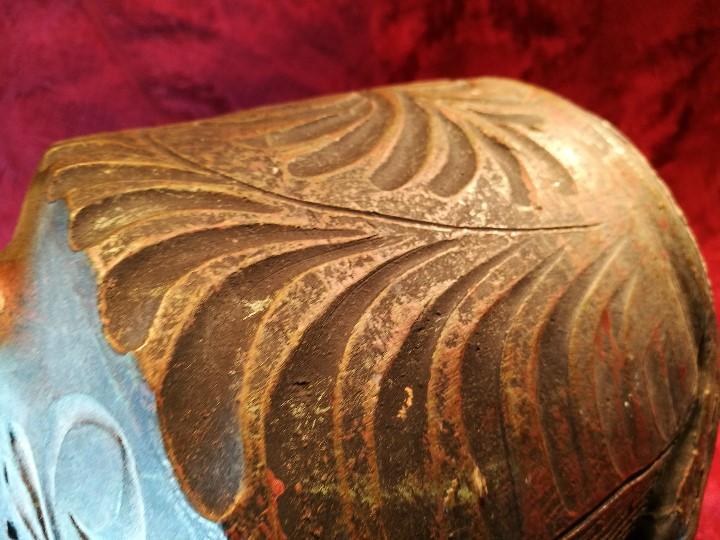 Antigüedades: BOTIJO. CERÁMICA PATINADA. RECUERDO DE MONTSERRAT. ESPAÑA. SIGLOS XIX-XX - Foto 17 - 112801295