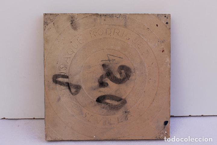 Antigüedades: 9 AZULEJOS DE MENSAQUE RODRIGUEZ FINALES SIGLO XIX - Foto 12 - 112806583