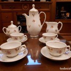 Antigüedades: ANTIGUO JUEGO DE CAFE. ROYAL GIJON. Lote 112811811