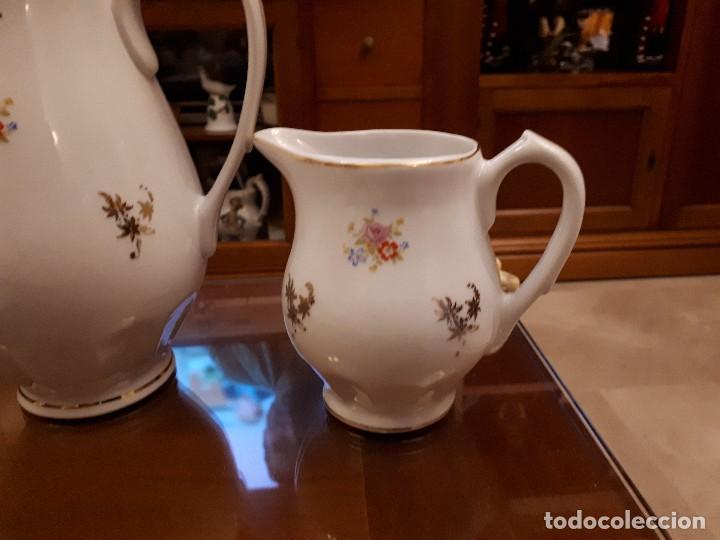 Antigüedades: antiguo juego de cafe. royal gijon - Foto 4 - 112811811