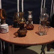 Antigüedades: LOTE DE 8 QUINQUES PEQUEÑOS. Lote 112817807
