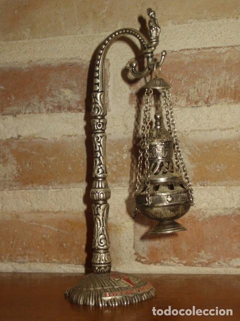 Antigüedades: BOTAFUMEIRO SANTIAGO. - Foto 7 - 159385142