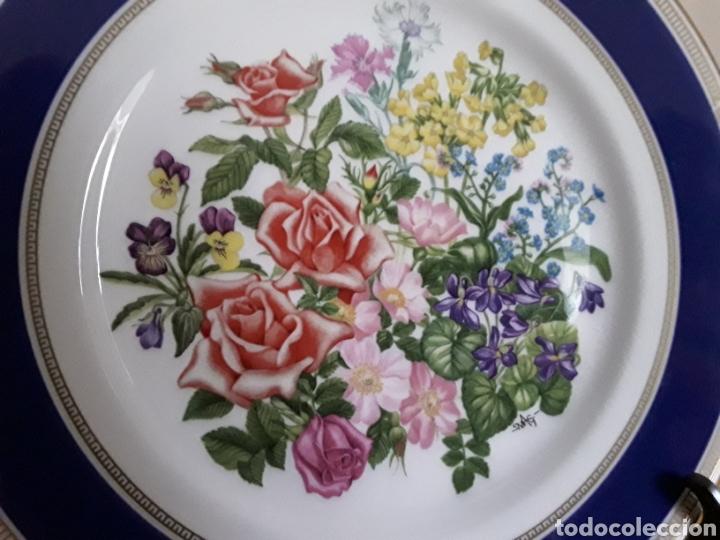 Antigüedades: Plato de porcelana inglesa Royal Doulton - Foto 3 - 112833304