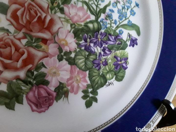 Antigüedades: Plato de porcelana inglesa Royal Doulton - Foto 4 - 112833304