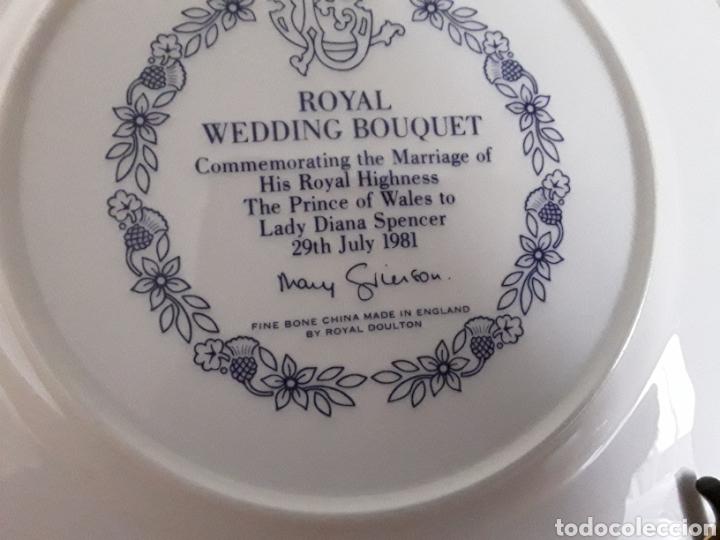 Antigüedades: Plato de porcelana inglesa Royal Doulton - Foto 6 - 112833304