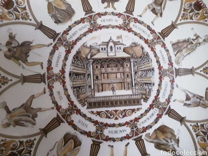 Antigüedades: Plato de porcelana inglesa Wedgwood - Foto 2 - 112833759