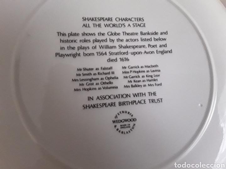 Antigüedades: Plato de porcelana inglesa Wedgwood - Foto 4 - 112833759