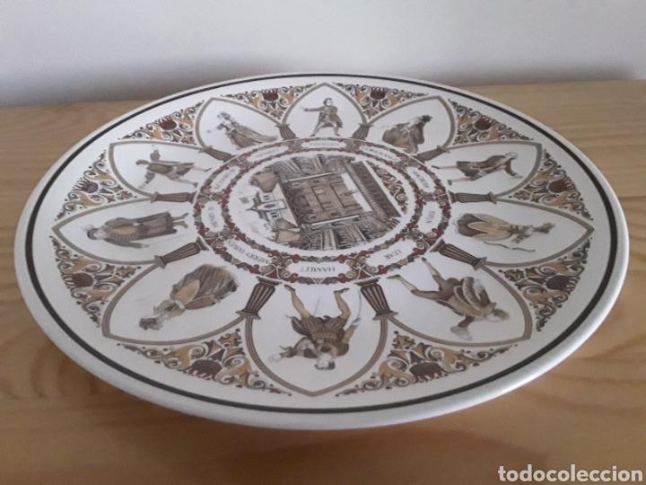 Antigüedades: Plato de porcelana inglesa Wedgwood - Foto 5 - 112833759