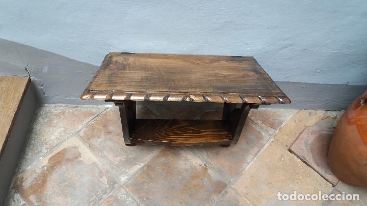 PEANA SENCILLA (Antigüedades - Muebles Antiguos - Ménsulas Antiguas)