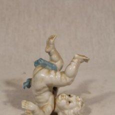 Antigüedades: ANGELITO PORCELANA ALGORA. Lote 112841571