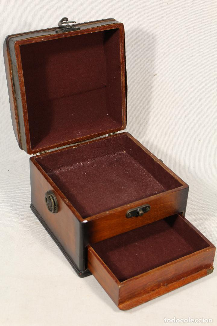 Antigüedades: caja joyero en madera - Foto 2 - 112846711