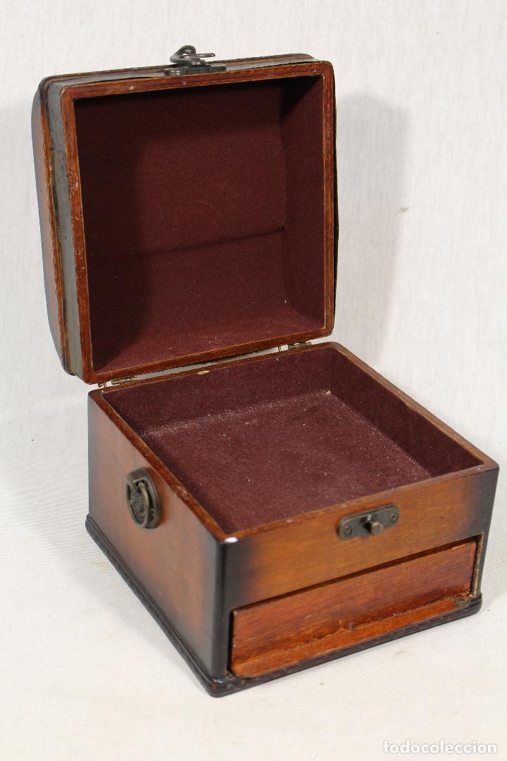 Antigüedades: caja joyero en madera - Foto 3 - 112846711