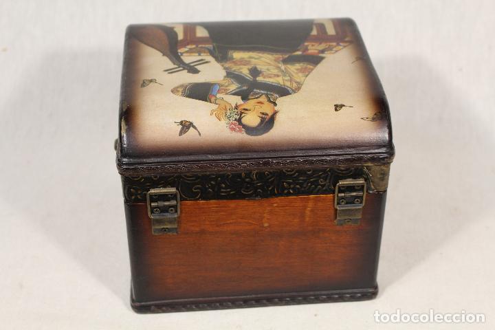 Antigüedades: caja joyero en madera - Foto 5 - 112846711