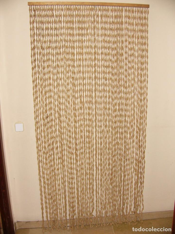 Antigua cortina de cuerda o esparto comprar cortinas - Cortinas de esparto ...