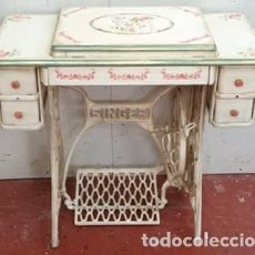 Antigüedades: TOCADOR(MAQUINA DE COSER). Lote 199095858