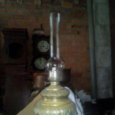 Antigüedades: ESPECTACULAR QUINQUE BRONCE SIGLO XLX. Lote 112871464