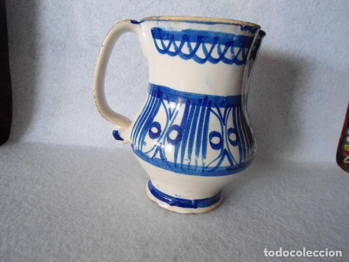 ANTIGUA JARRA DE TALAVERA (Antigüedades - Porcelanas y Cerámicas - Talavera)