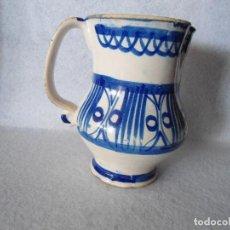 Antigüedades: ANTIGUA JARRA DE TALAVERA. Lote 112878931
