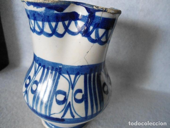 Antigüedades: ANTIGUA JARRA DE TALAVERA - Foto 7 - 112878931