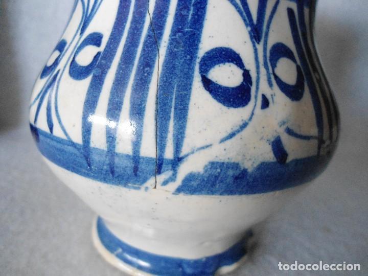 Antigüedades: ANTIGUA JARRA DE TALAVERA - Foto 8 - 112878931
